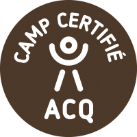Les jeunes de jadis, A.C.Q. certified camp for your child